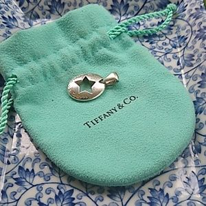 Tiffany & Co Sterling star pendant